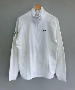 Mint Rare Men's NIKE Roger Federer RF Tech Jacket White Size M
