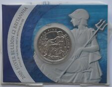 2005 £2 Britannia 1oz Silver Coin Royal Mint Presentation Card Silver Bullion
