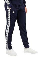 Men's Kappa Logo Slim Fit Joggers Tracksuit Jogging Bottoms Track Pants