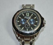 Armitron Steel Men's Wristwatch 20/5095BL 6P29_New Battery