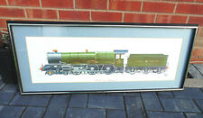 More details for  (#29) gwr 6000 king george v train print g wheeler picture (pick up only)