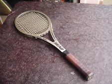 Vintage HEAD AMF USA Arthur Ashe Competition 3 Tennis Racquet 4 1/2L Leather