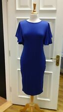 Bodycon dress with batwing sleeves