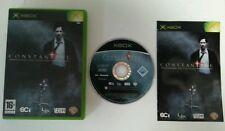 XBOX - Original Xbox Constantine Video Game Complete Sci Games Vertigo PAL 2005