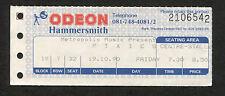 Original 1990 Pixies concert ticket stub Hammersmith London Bossanova