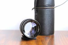KIMUNOR 135mm f/3.5 for Pentax M42 screw mount w/ leather Case - Smooth Aperture