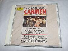BIZET Carmen   Pacido Domingo Cladio Abbado London Symphony  CD