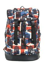 Doctor Who Tardis Union Jack Slouch Buckle Backpack Book Bag Dr New With Tags!