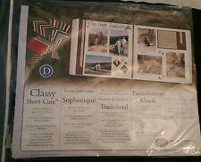Creative Memories pre-cut Photo Mounting Paper -Classy Short Cuts