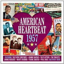 Various Artists - American Heartbeat 1957 / Various [New CD] UK - Import