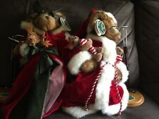 Bearington Collection, Christmas Bears With Stands
