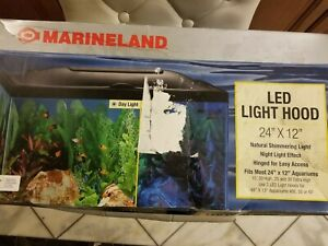 Marineland LED Light Hood for Aquariums, Day & Night Light 24- by 12-Inch