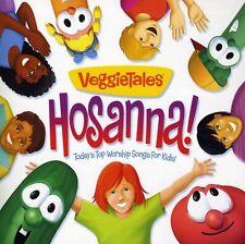 VeggieTales - Hosanna: Today's Top Worship Songs for Kids [New CD]