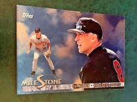 1998 Topps #MS9 Cal Ripken Jr MileStone - Orioles