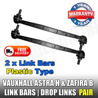 Vauxhall Astra H Mk5 Front Drop Links Stabiliser Anti Roll Bar Link x2 NEW