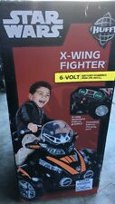 Huffy Star Wars X Wing 6V Battery Powered Ride On Toy Ages 3+ NEW