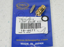 82 KAWASAKI KZ750 GPz 750 NEW K&L FLOAT VALVE NEEDLE & SEAT ASY 18-4671