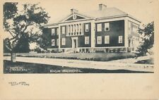 WEST BOYLSTON MA – High School – udb (pre 1908)