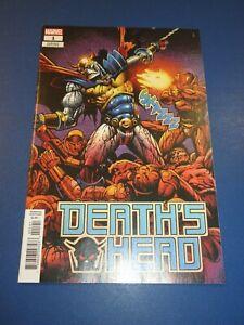 Death's Head #1 Rare 1:50 Sharp Variant NM Gem Wow