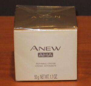 Avon Anew AHA Alpha Hydroxy Acid Refining Cream $30 NIB