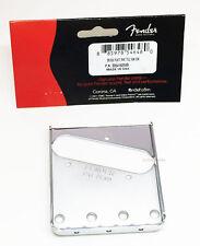 Genuine Fender Vintage Telecaster Tele 3-Saddle Bridge Plate - Chrome
