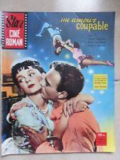 STAR CINÉ ROMAN  N° 70 UN AMOUR COUPABLE Ingrid ANDRÉE  Vera MILES  Henry FONDA