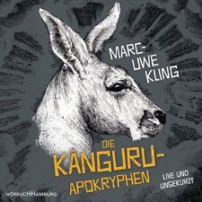 Kling Marc-Uwe Känguru-Apokryphen 4er CD HörBuch NEU Live Lesung