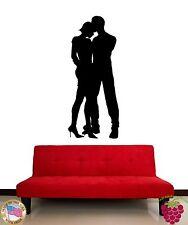 Wall Stickers Vinyl Decal Dance Romantic Love Couple z1087