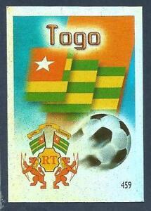 MUNDOCROM WORLD CUP 2006- #459-TOGO TEAM BADGE-SILVER FOIL