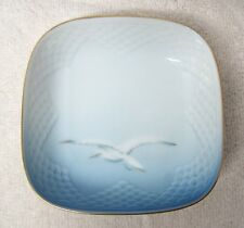 Bing & Grondahl Seagull 4 3/8 Square Mint Candy Dish Great Shape