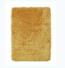 Think Rugs Monte Carlo Hand-Tufted Area Rug, Yellow 80cm x 140cm