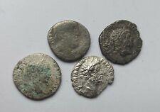 LOT OF 4 ANCIENT ROMAN IMPERIAL SILVER DENARII