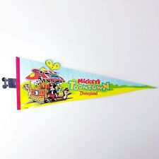 Disneyland Toontown Train Pennant Souvenir