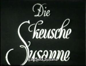 DVD Die keusche Susanne (Richard Eichberg, 1926)  Wilhelm Bendow, Sascha Bragowa