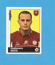 PANINI CALCIATORI 2006-2007- Figurina n.322- MESTO - REGGINA -NEW