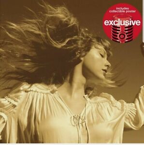 TAYLOR SWIFT - Fearless (Taylor's Version) (Target Exclusive, CD) 2021 NEW