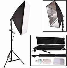Abeststudio 135W 50x70cm KIT di Illuminazione continua Softbox soft box STUDIO FOTOGRAFICO