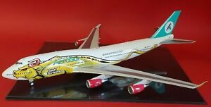 InFlight200 Boeing 747-400 AeroSur CP-2603 'Super Torismo' with stand