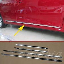 Chrome Door Body Molding FOR 2014-2016 Mazda3 BM AXELA Trim Cover Styling ABS
