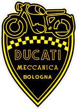 "#3280 (1) 3"" Ducati Meccanica Racing Classic Vintage Decal Sticker LAMINATED"