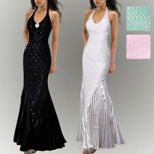 Lace Halter Formal Dresses for Women