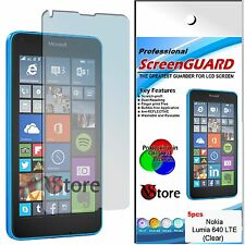 5 Pellicole Per NOKIA Lumia 640 LTE Proteggi Salva Schermo Display LCD Pellicola