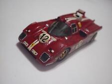RD Marmande (France) Red Ferrari V195 Nart Le Mans 1971 Wood 1:43
