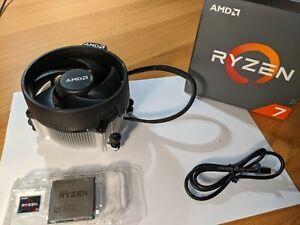 CPU AMD Ryzen 7 1700, Processore PARI AL NUOVO con dissipatore LED Wraith Spire