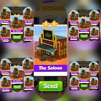 25x The Saloon ### Coin Master  Cards (Fastest Delivery)