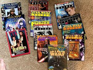 Star Wars Insider Magazine Lot + EXTRAS!