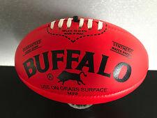 Brand New Buffalo Brand Soft Touch Pvc Mini Sz 20cm Red Aussie Rules Football