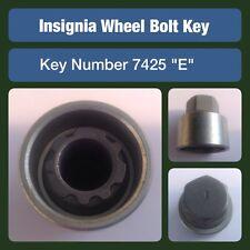 "Genuine Vauxhall Insignia Locking Wheel Bolt / Nut Key 7425 ""E"""