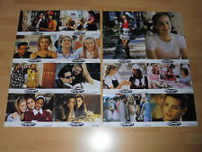 CLUELESS - set of 14 lobby cards ´95 - ALICIA SILVERSTONE Brittany Murphy