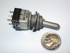 C-H (EATON) MIL-SPEC TOGGLE SWITCH  DPDT ON-NONE-ON 8869K4 MS90311-231 REFURB.